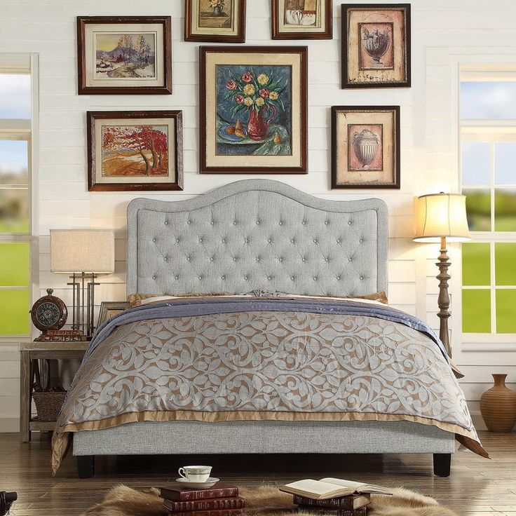 Best Turin Upholstered Panel Bed Reviews Birch Lane 400 x 300