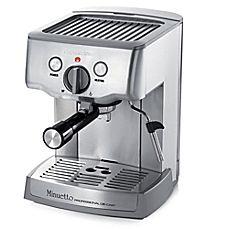image of Espressione Café Minuetto Die-Cast Professional Espresso and Cappuccino Maker