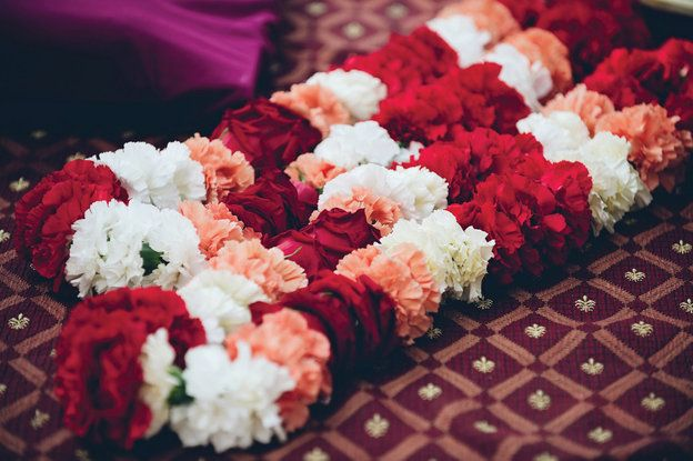 Carnation Indian Garlands for wedding