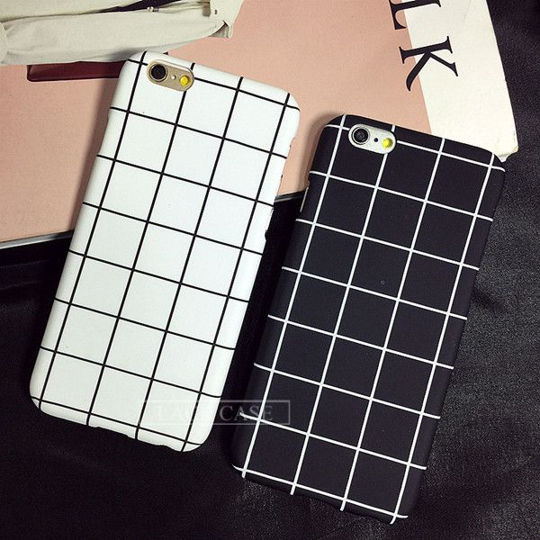 Black White Grid Phone Case For iPhone 7 6 6S Plus Price : 12$ & Free Shipping @casepeace www.casepeace.com  #phonecase #iphonecase #smartphonecase #iphone #apple #case #pattern #iphone7 #iphonex #iphone5 #black #white #movie #pallets #grid #square #math #geometric #bestseller