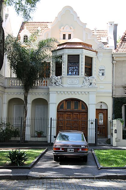 """a typical house in Belgrano """"R""""- Buenos Aires- Argentina"""