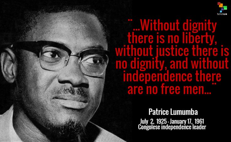 #TodayInHistory | We commemorate the birth of Congolese independence leader #PatriceLumumba