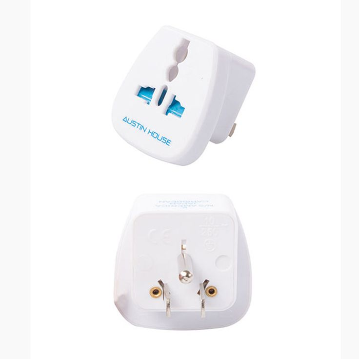 Personal Edge : AUustin House AH12NA01 Adaptor Plug (K) with Ground