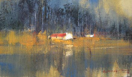 """This year's main fund raising event is an art auction of a very special painting by celebrated artist Derrick van Rensburg entitled """"Lake Cottage"""" (pictured ..."""
