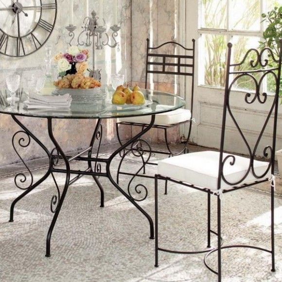 Superb Wrought Iron Furniture Is Eternal And Therefore The Bathroom Decorated With Wrought  Iron Elements Will Look Classy And Artistic. Great Pictures