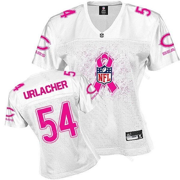 0e40dc46 Chicago Bears Brian Urlachers Jersey for Breast Cancer Awareness! Nike  Texans 99 J.J. Watt Pink Womens Fem Fan NFL ...