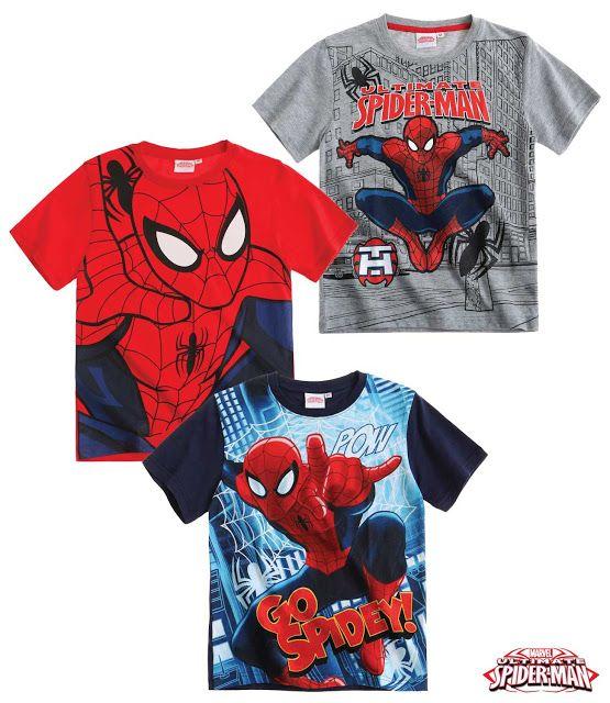 Alaturi de Spiderman, fiecare zi este o noua aventura!  material imprimat in partea din fata, partea din spate fiind de culaore denim; decolteu usor elastic, pentru o imbracare facila; material de calitate, subtire de vara, moale si confortabil din bumbac 100%; articol produs cu licenta Spiderman.