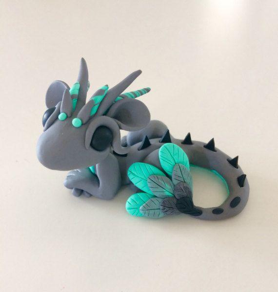 Polymer Clay Dragon
