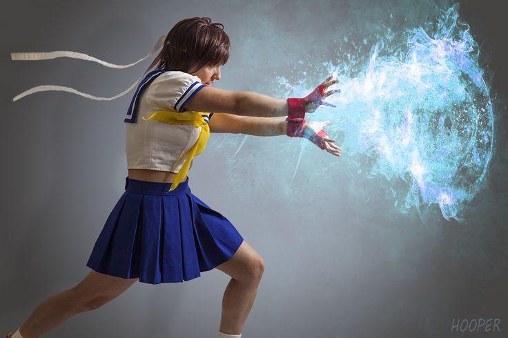 Sakura Kasugano Street Fighter Cosplay Hadoken - Imgur