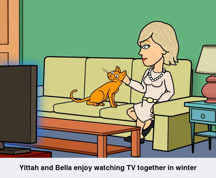 Yittah & Bella The Beautiful (A Bitstrips fun pic)