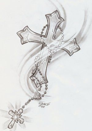 Cross Rosary TattooMemories Tattoo, Tattoo Ideas, Wrist Tattoo, First Tattoo, Feet Tattoo, Crosses Tattoo, Tattoo Drawing, Tattoo Design, Arm Tattoo