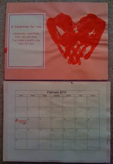 Homemade Calendar Ideas : Ideas about homemade calendar on pinterest