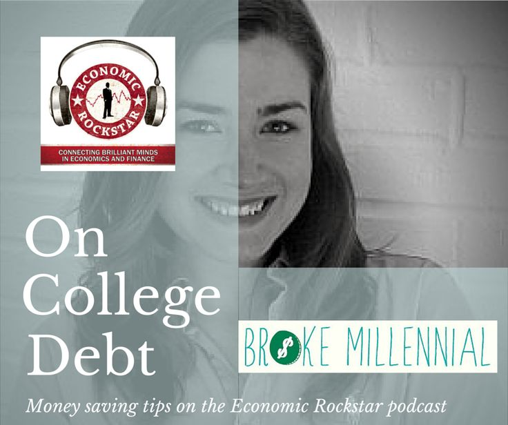 Erin Lowry of Broke Millennials on the Economic Rockstar podcast, episode 3 on iTunes.