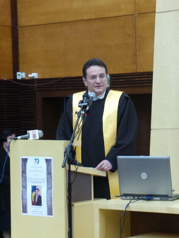 Directorul SRI - Doctor Honoris Causa Beneficiorum Publicorum