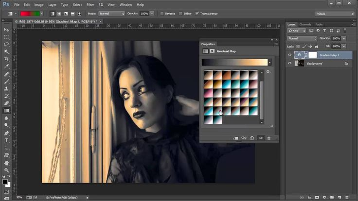 421 Mapas de degradado fotográficos en Photoshop