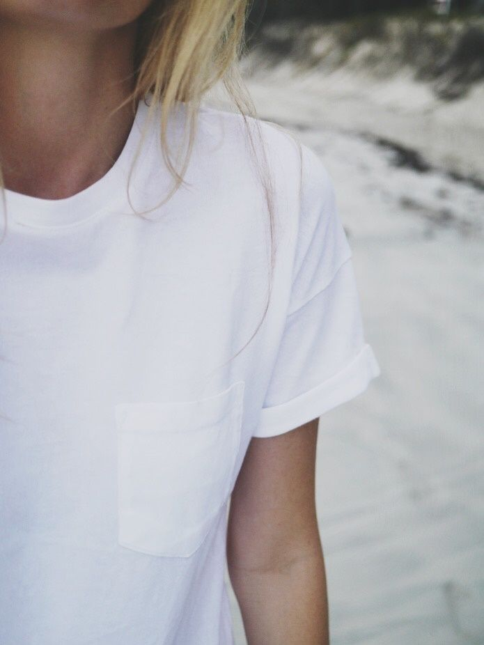 Style...Camilla Pihl // the perfect white t-shirt