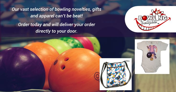 Our vast selection of bowling novelties, gifts and apparel can't be beat! Order today and will deliver your order directly to your door. #bowling #gifts #products #giftbasket #chocolates #frames #toys #games #novelties #party #high-quality #delivery #giveaway #BowlingDelights #shopping #deals #sale