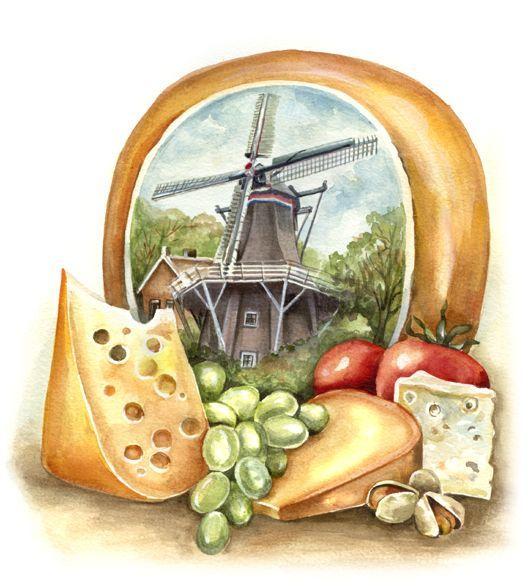 quesos de Holanda