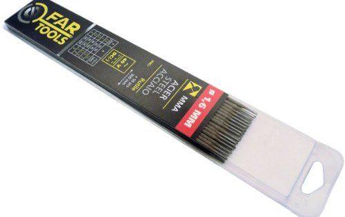 Fartools 150703 Electrode de soudure Type de baguette Rutile Diamètre 1,6 mm Longueur 300 mm Nombre de baguettes x50: 50 électrodes 1,6mm…