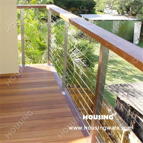 deck bois cloture blanche - Recherche Google