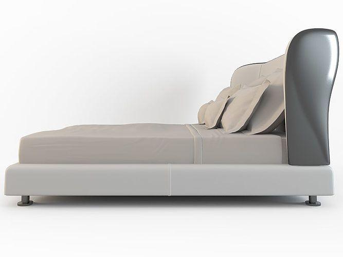 bed Rea 3D model Bed, Bed design, Furniture