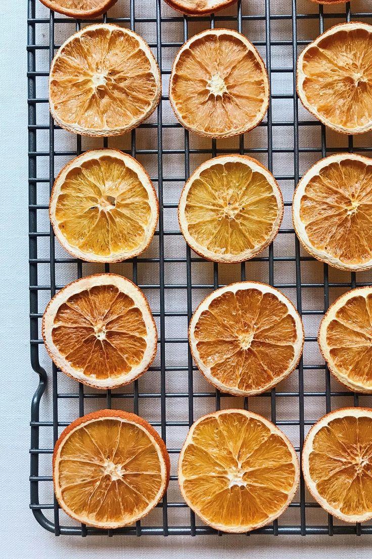 DIY Dried Citrus Garlands Diy christmas garland, Orange