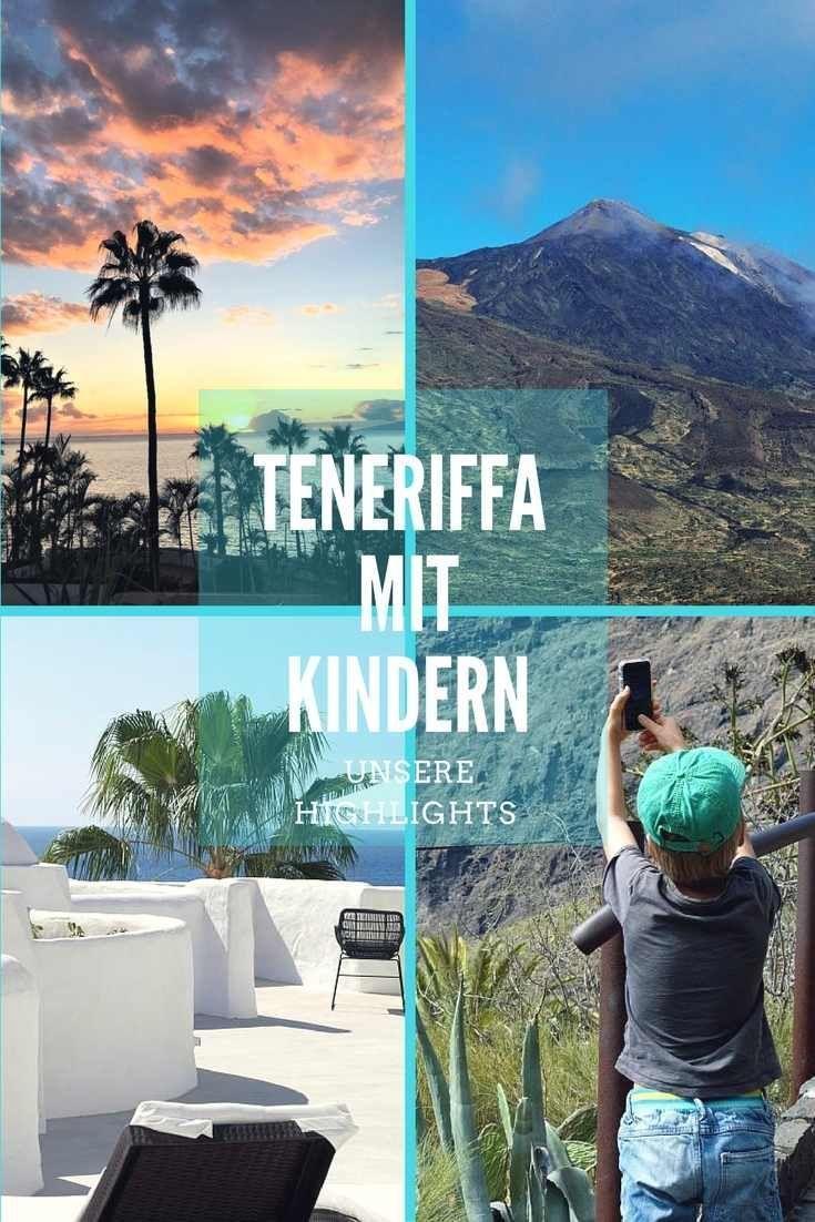 Tipps für schöne Tage auf Teneriffa mit Kindern. Sommer im November! #teneriffa #teneriffamitkindern