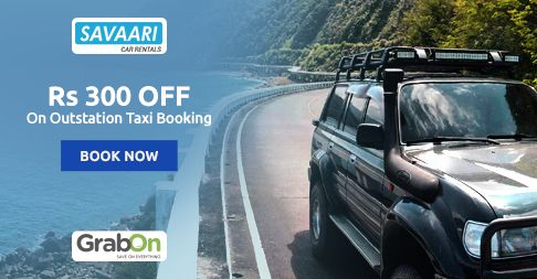 Get #Discount On Your First Outstation Taxi. Book #Taxi @ #Savaari & Get Rs 300 Off. http://www.grabon.in/savaari-coupons/