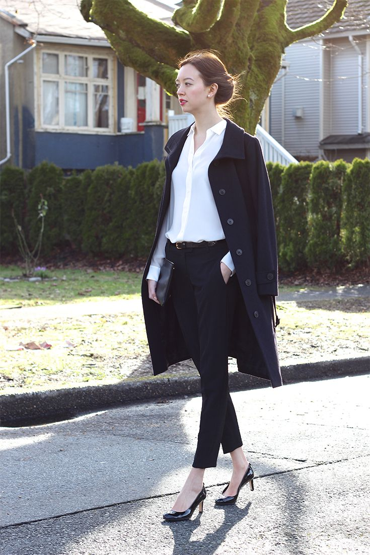Theory pants / work #outfit / Emilie Chevrier - emiliechevrier.com