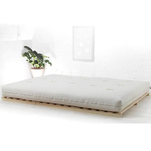 Rio is a solid pine, low futon bed base. A simple, Japanese style bed. Made in the UK. Buy Online. Free UK Delivery.