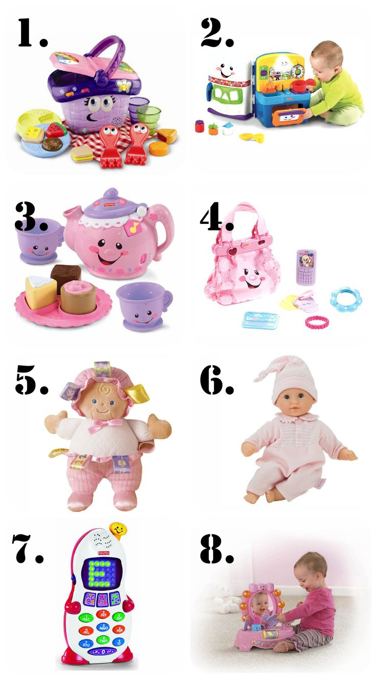 The Ultimate List of Gift Ideas for a 1 Year Old Girl! | The Pinning Mama