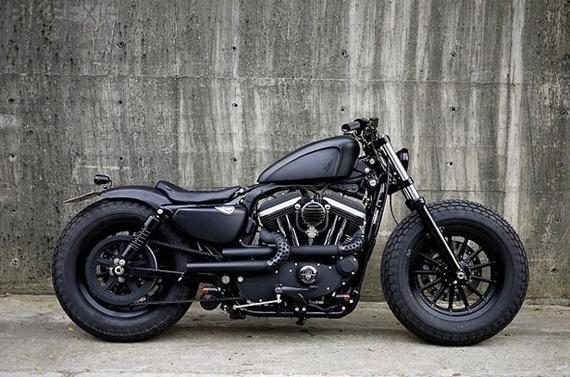 Serious bike.