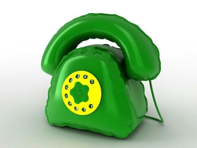 Täispuhutav telefon