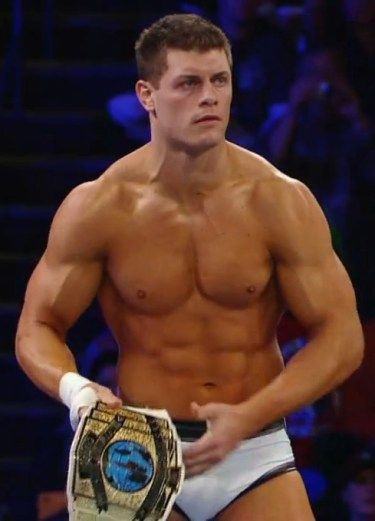 The very best of luck to you, Cody Rhodes.