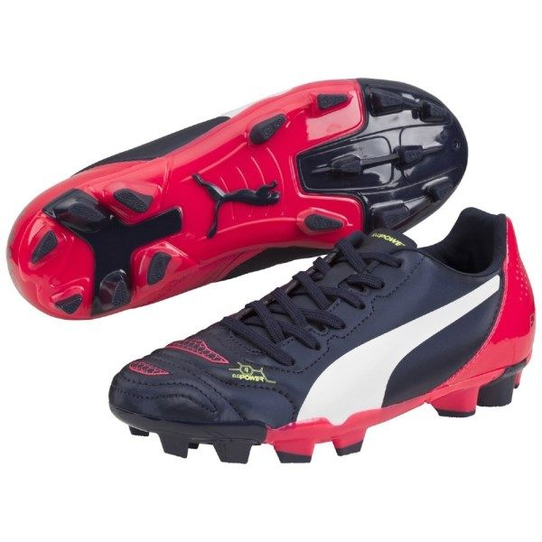 Puma Evopower 4.2 FG Kids Boys Football Boots