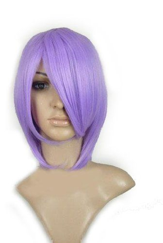 Lucky Star Hiiragi Costume Party Wig (Model: Jf010053) (Purple) by cool2day. $22.01. Top Material and design: Adjustable Monofilament Net.. Hair material: 100% Japanese Kanekalon (high quality one) made fiber.. Texture: straight. Color: as the picture pink purple. Weight: 0.18kg. Specifications: *Hair material: 100% Japanese Kanekalon (high quality one) made fiber.   *Top Material and design: Adjustable Monofilament Net.   *Color: as the picture pink purple   *Weig...