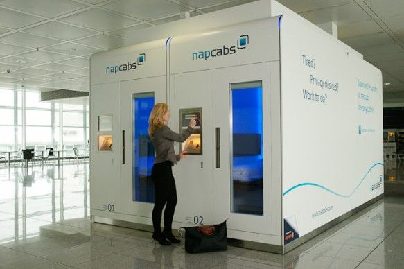 Airport Sleeping Pods Taking Over the World - LifeEdited
