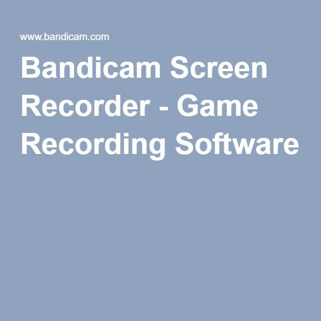 Bandicam Screen Recorder - Game Recording Software