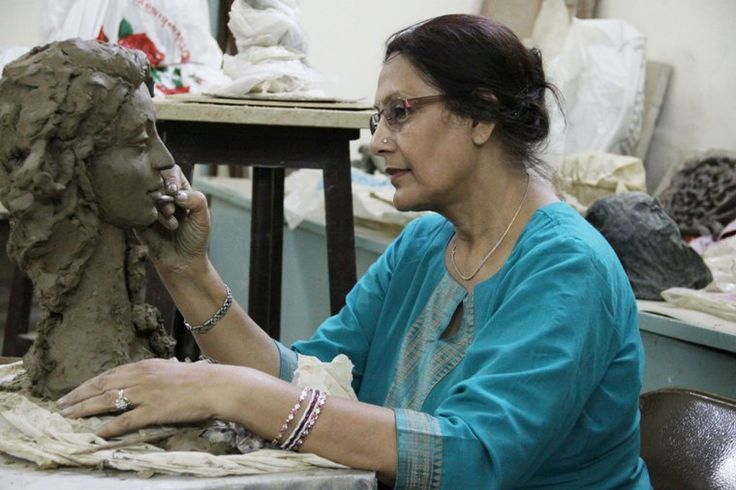Madhulika Jha – Artist Sculptor - Buy genuine works of Art at the India Art Gallery –  http://indiaartgallery.in/artists/madhulika-jha/