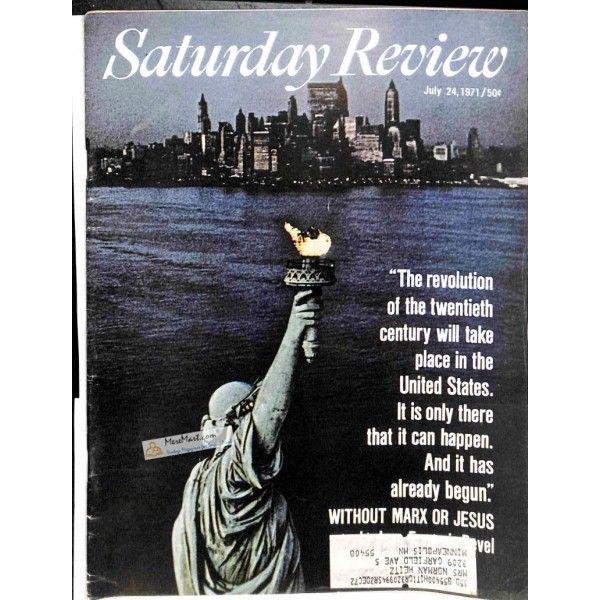 Saturday Review, July 24 1971 | $11.67