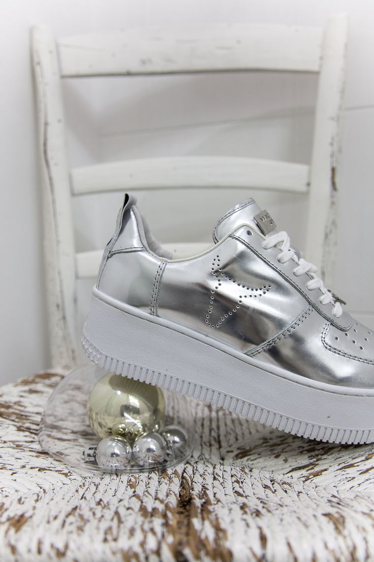 Sneakers Racerr Chrome Argento by Windsor Smith