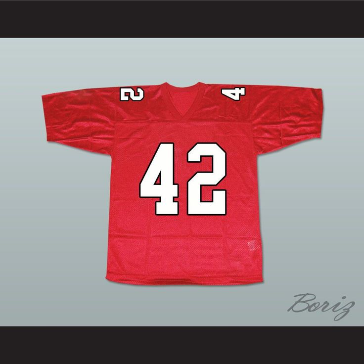 """Kurt Hummel 42 William Mckinley High School Football Jersey. I HAVE ALL SIZES and can change Name and Number(Width of your Chest)+(Width of your Back)+ 4 to 6 inches to account for space for a loose fit.Example: 18"""" wide chest plus 18"""" wide back plus 4"""" of space, would be a size 40"""".Please consider ordering a larger size, if you plan to wear protective sports equipment under the jersey.size chart chest:XS 30""""-32"""" Chest Measurement (76-81 cm)S 34""""-36"""" Chest Measurement (86-91 cm)M 38""""-40""""…"""