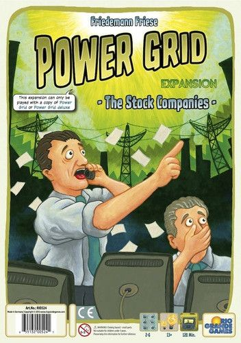 Power Grid: The Stock Companies Expansion