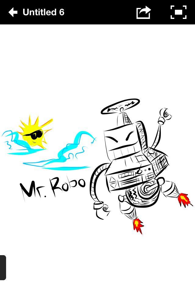 Mr Robo *adobe ideas