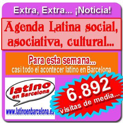 Latino en barcelona: Agenda cultural latina en Barcelona