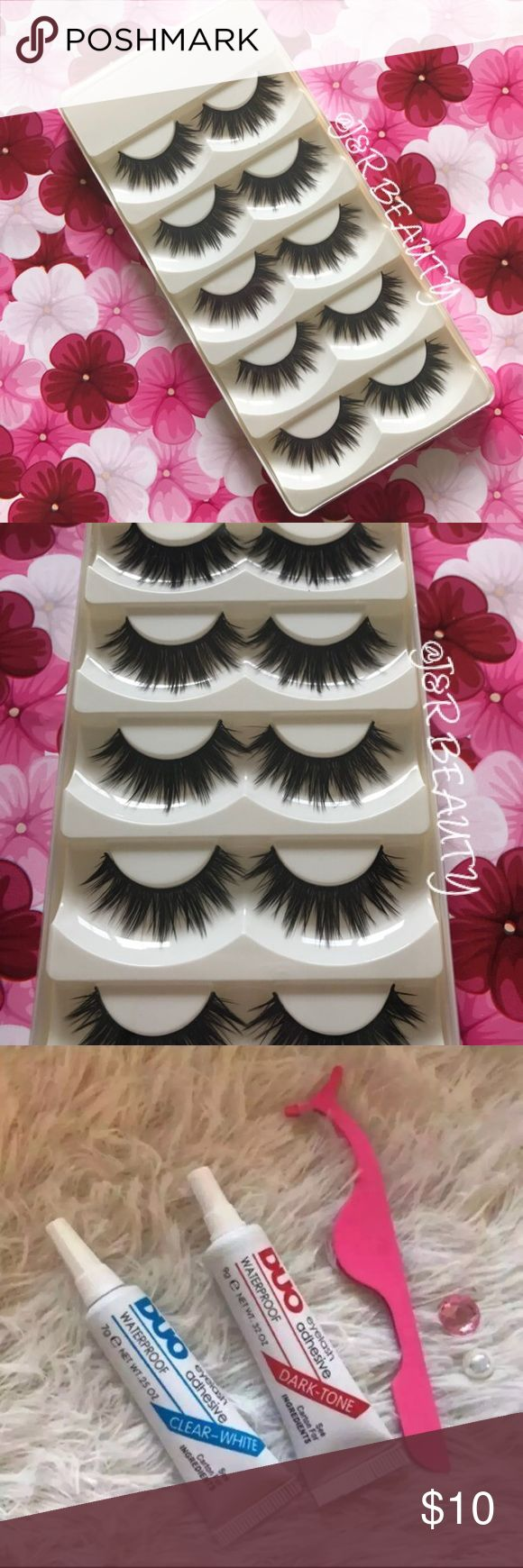 ICONIC Eyelashes 5 Pairs +$2 Add on eyelash Applicator  +$3 Add on eyelash glue Please message me if you want to add them.   ✅ Bundle &  Save  # tags Iconic, mink, red cherry eyelashes, house of lashes, doll, kawaii, case, full, natural,  Koko, Ardell, wispies, Demi , makeup, Iconic, mink, red cherry eyelashes, house of lashes, doll, kawaii, case, full, natural,  Koko, Ardell, wispies, Demi , makeup, mascara, eyelash applicator, Mykonos Mink , Lashes , wispy ,eyelash case, mink lashes  Ship