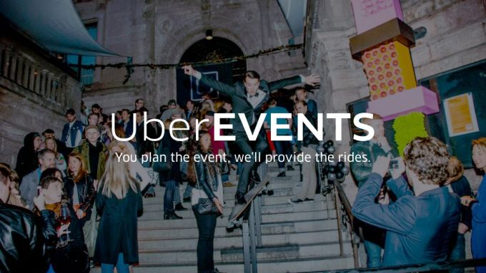 Uber Has A New Pre-Paid Ride Service Called UberEVENTS