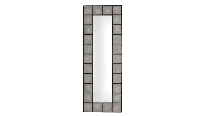 Eichholtz, Shagreen Mirror - LuxDeco.com