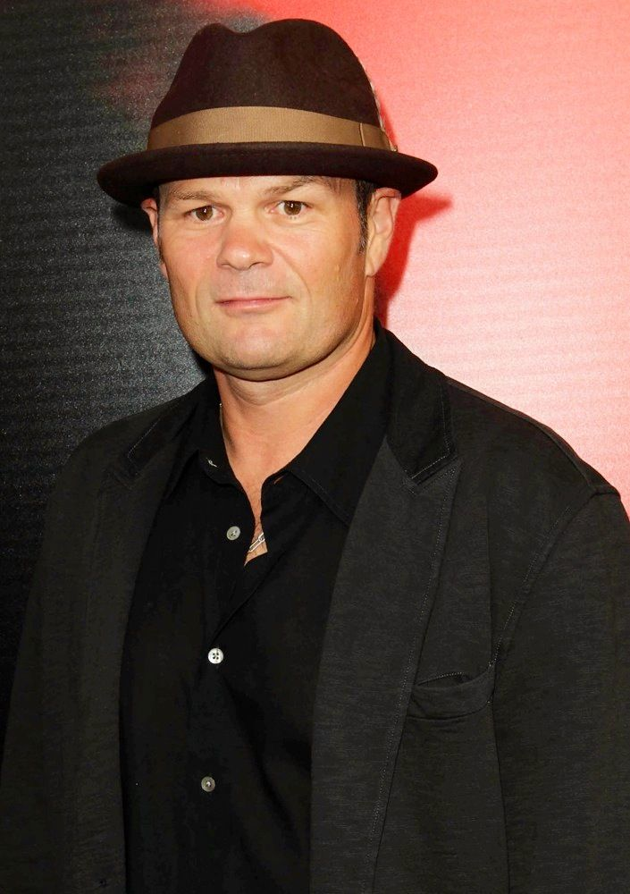 Chris Bauer who Plays Sheriff Andy Bellefleur Arrives @ The  Premiere of HBO's True Blood Season 6
