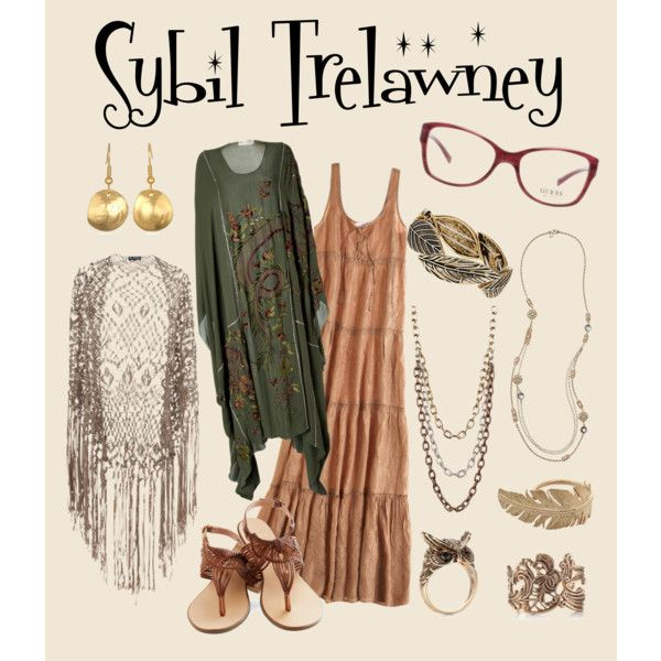 """""""Sybil Trelawney"""" by queergryffindor on Polyvore"""